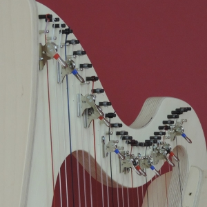 Partially Levered harp for beginners