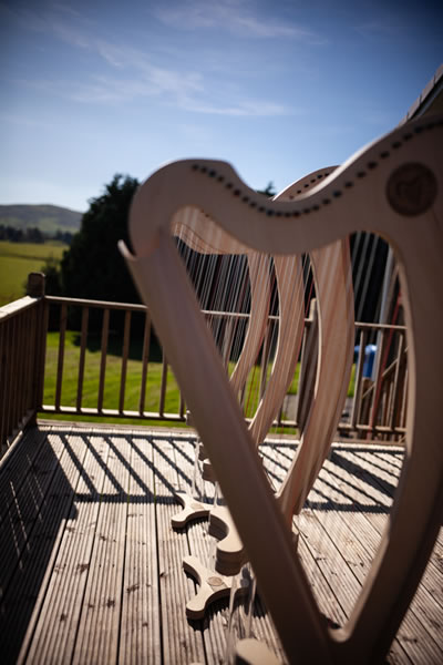 Affordable starter harps designed and built in the Scottish Borders