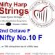 Nylon String - No.10. F