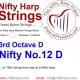 Nylon String - No.12. D