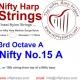 Nylon String - No.15. A