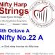 Nylon String - No.22. A