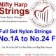Complete 24 Nylon string set